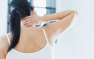 Комплекс упражнений для лечения шейного остеохондроза