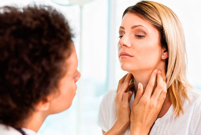 Лимфоузел на шее - причины, симптомы и лечение воспаления