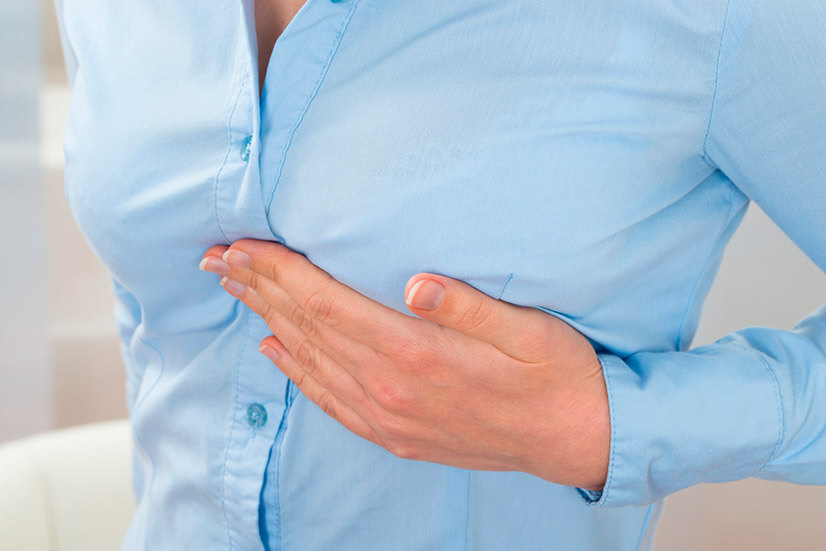 Боль в грудной клетке - причины, диагностика, лечение