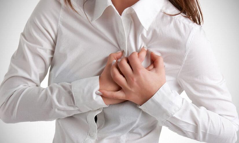 Боль в области сердца - причины, симптомы, виды, диагностика, лечение