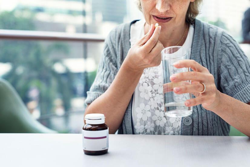 Как принимать таблетки Диафлекс?