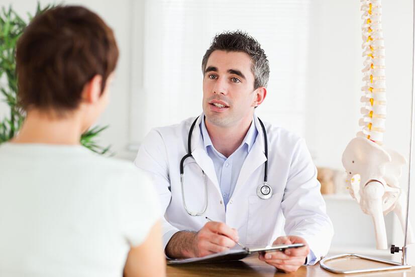 Симптомы и последствия перелома копчика для женщин