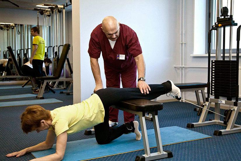 Упражнения на мтб для позвоночника