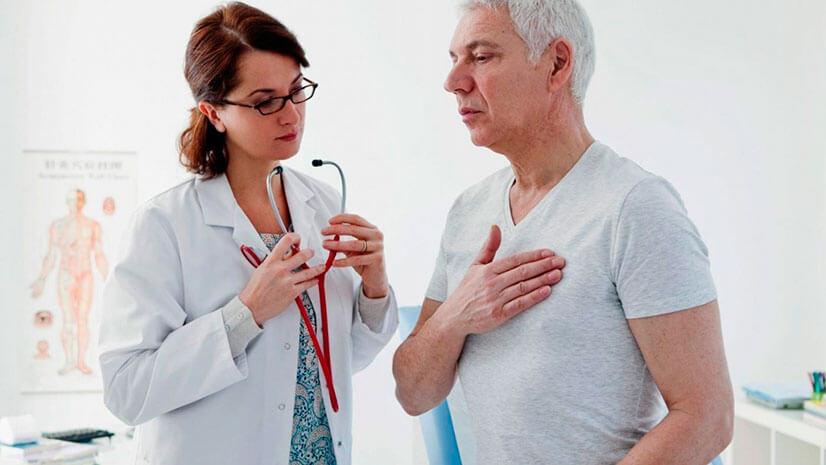 Причины и лечение боли посередине грудной клетки