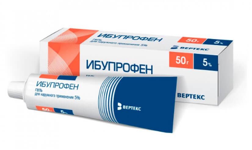 Ибупрофен от чего помогает гель