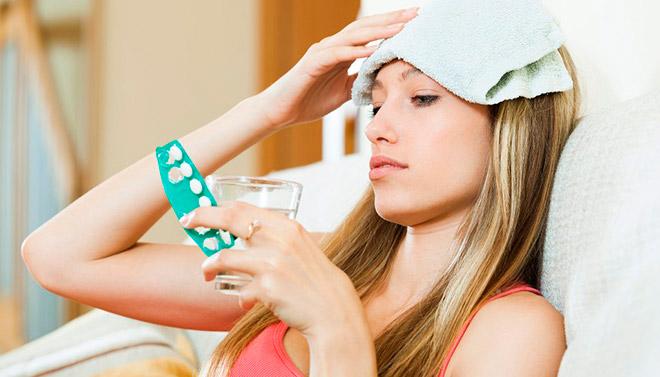 Способы лечения боли в лобной части головы